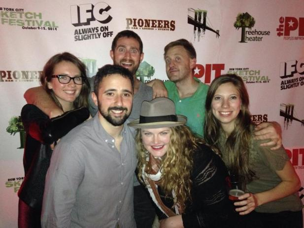 NYC Sketch Festival 2014! MARTHA at the People's Improv Theatre 10/9/14